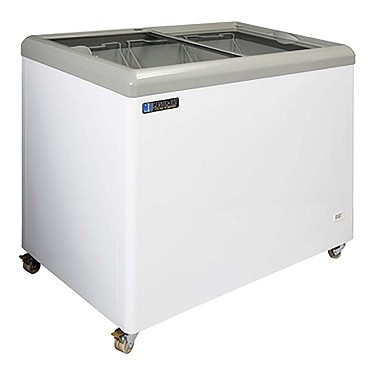 Master-Bilt Products MSF-43AN - Chest Display Freezer, Flat Glass