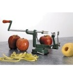 Matfer 215155 - Apple Peeler, peels, slices and cores simultaneously, with suction cup