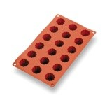 Matfer 257990 - Mini Cannele Mold, 18 per sheet, 1-3/8
