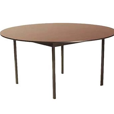 Maywood DLDEL42RD - Deluxe Round Top Folding Table, 42 x 29 in.