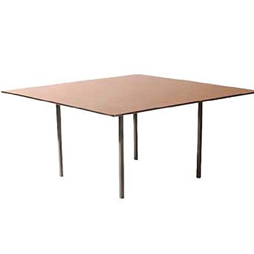 Maywood DLDEL36SQ - Deluxe Square Top Folding Table, 36 x 36 x 29 in.