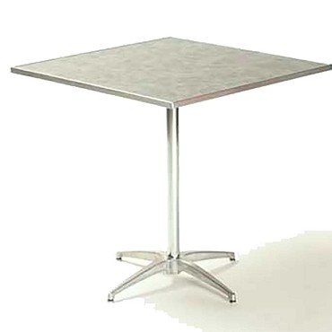 "Maywood ML36SQPED30 - Pedestal Table, 36"" square x 30"", laminated top"