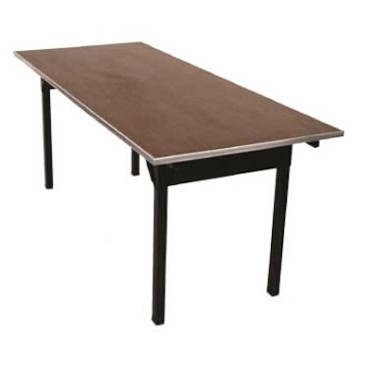 Maywood DLORIGLW3060 - Lightweight Folding Table, laminated top, 60 x 30 x 30 inch