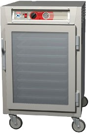 Metro C565-NFC-L - Heated Holding Cabinet, mobile, 1/2 height, insulate