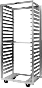 "Metro RD33N - Pan Rack, mobile, side loading, 29-3/8""W, 69-1/4""H, 18-5/8"""