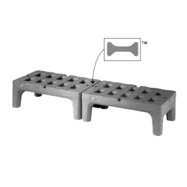"Metro HP2236PDMB - Bow-Tie Dunnage Rack, 22"" x 36"" x 12"" H, slotted, holds up"