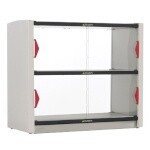 Metro GG2CD-HS1842 - Take Out Order Station, (2) individually controlled shelves with sliding front doors