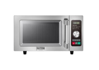 Midea 1025F2A - Microwave Oven, Light Duty, 0.9 cu.ft., 1000W