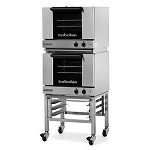 Moffat E22M3/2C - Turbofan Convection Oven with Casters, Double Electric Half-Size