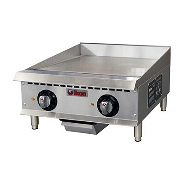"IKON ITG-24E - Griddle, electric, countertop, 24""W, plate, (2) elements"