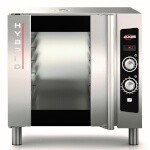 Axis AX-HYBRID - Convection Oven, electric, with humidity, (5) sheet pan capacity, manual controls