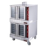 IKON IECO-2 - Convection Oven, electric, double-deck, standard depth, 2-speed 1/2 hp fan (per oven)