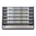 Hydra Kool KGV-MO-5-R - Refrigerated Open Merchandiser, 123-1/8