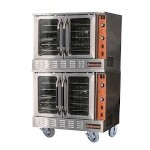 Sierra SRCO-2 - Convection Ovens, natural gas, double-stacked, standard depth