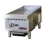 IKON IMG-12 - Griddle, gas, countertop, 12
