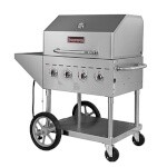 Sierra SRBQ-30 - Stainless Steel Outdoor Gas Grill, 30