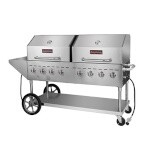 Sierra SRBQ-60 - Stainless Steel Outdoor Gas Grill, 60