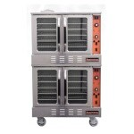 Sierra SRCO-2E - Convection Oven, electric, double-deck, standard depth, electronic timer, 2-speed 1/2 hp fan