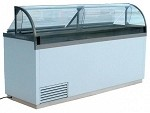 Nelson Mfg. 16DIPHV - Curved Visual Dipping Cabinet, (30) Tub Capacity