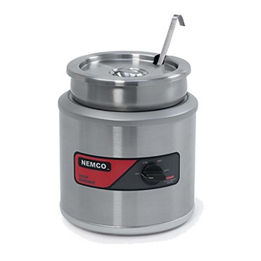 Nemco 6101A - Countertop Round Warmer, 11 qt., heavy duty stainless steel
