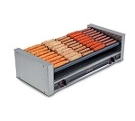 Nemco 8036-SLT-220 - Hot Dog Grill, 10 chrome rollers w/ 7 degree slant