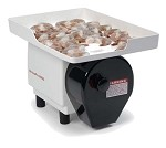 Nemco 55925 - ShrimpPro 2000 Power Shrimp Cutter & Deveiner, includes feeder