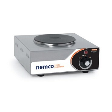 "Nemco 6310-1 - Hot Plate, single burner, 5-1/8"" x 12"" x 13-1/2"""