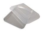Nordic Ware 45303 - Natural Commercial Baker's Quarter Sheet Cake Pan w/Lid, 13