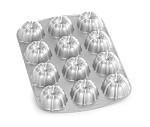 Nordic Ware 52802 - Bundt Commercial Cupcake Pan, (12) 1/3 cup cavity