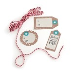 Nordic Ware 00211 - Bake & Gift Kraft Tag & Bakers Twine