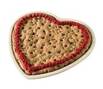 Nordic Ware 46722RED - Heart Cookie / Pizza Pan, Red