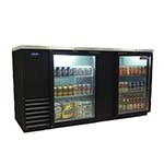 Nor-Lake NLBB69-G - Back Bar Refrigerator, 2-Section, 23.4 Cubic Feet