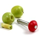 Norpro 5105 - Stainless Steel Apple Corer w/Plunger