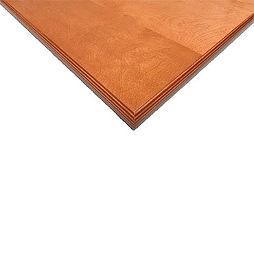 Oak Street EEO Table Top Rectangular X Thick - Thick wood table top