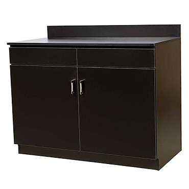 Oak Street M8220-BLK-UNASSEMBLED - Waitress Station, Black 48 W x 43.5 H