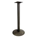Oak Street B18DISC-BAR - Table Base, 18 in. dia., 40-3/4 in. bar height