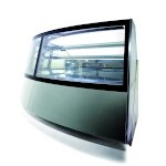 Orion 365-N30A-A-49-A&B - Curved Neutral Display Case, non-refrigerated, 63.53