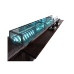 Orion BIA-NSH20.10-A-38-39 - Counter Display Case, non-refrigerated, 39.36