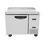 Padela PDP-44-HC - Refrigerated Pizza Prep Table, one-section, 43.98