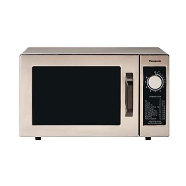 Panasonic NE-1025F - Pro Commercial Microwave Oven, 1000 Watts, 0.8 cu. ft. capacity