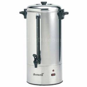 Boswell PC167C - PC Series Percolater, 1.56 gal. capacity, 40-Mugs