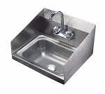 Vollrath K1410CS - Wall Mounted Hand Sink, 17 x 15 x 5-1/2 in.