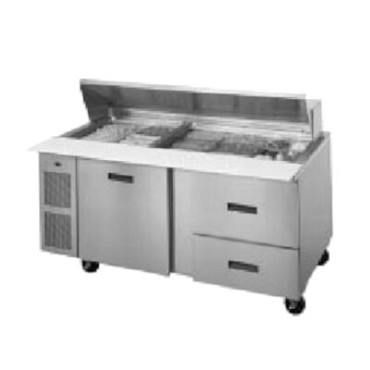 Randell 9030K-513 - Refrigerated Sandwich/Salad, 2-Section
