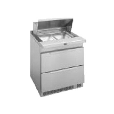 Randell 9412-32D-7 - Refrigerated Counter/Salad Top, 1-Section, Stainless