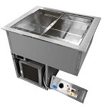 Randell RCHB-2-208 - Drop-In Hot/Cold Food Unit, electric, (2) 12
