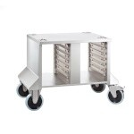 Rational 60.30.890 - Mobile Catering Stand, side & top closed, rear open, 26-3/8