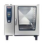 Rational B128206.19E - (SCC 102NG) SelfCooking Center Combi oven/steamer