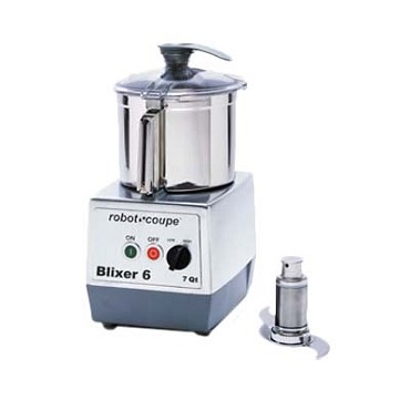 Robot Coupe 27166 - 7 Qt. Stainless Steel Blixer 6 Bowl Assembly