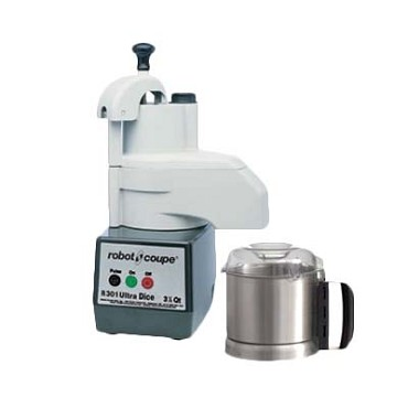 Robot Coupe R301 ULTRA DICE - Combination Food Processor, 3-1/2 qt.