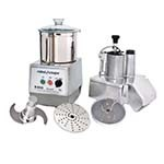 Robot Coupe R602N - Combination Food Processor, 7 liter bowl, continuous feed, two speeds
